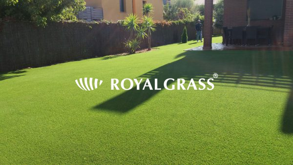 Jardín césped artificial Royal Grass