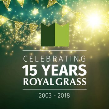 15 años de Royal Grass